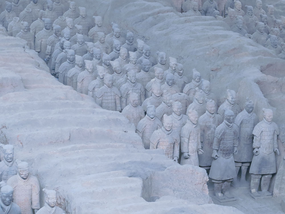 terracota warriors xian