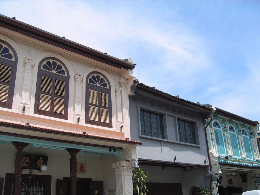 Facades à Malacca