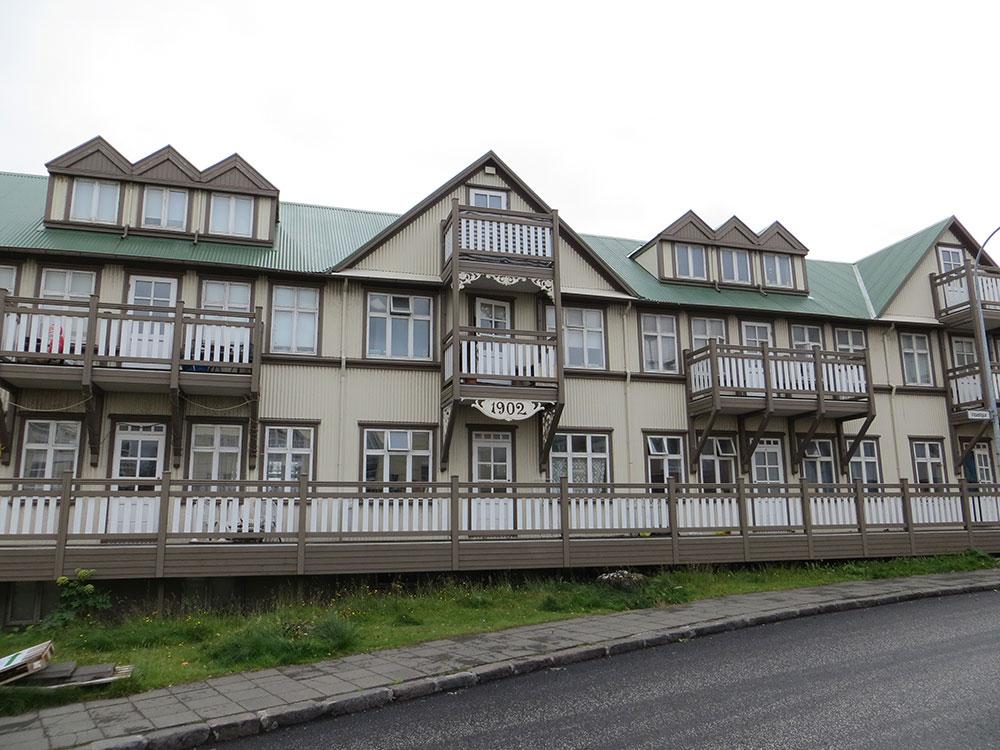 Maisons à Reykjavík