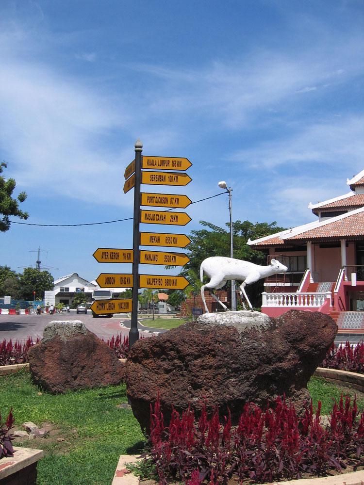 Panneaux à Malacca