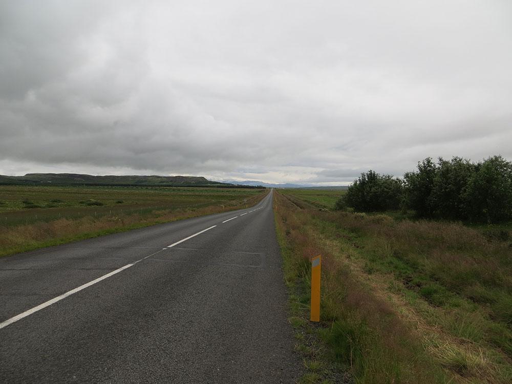 Route en Islande