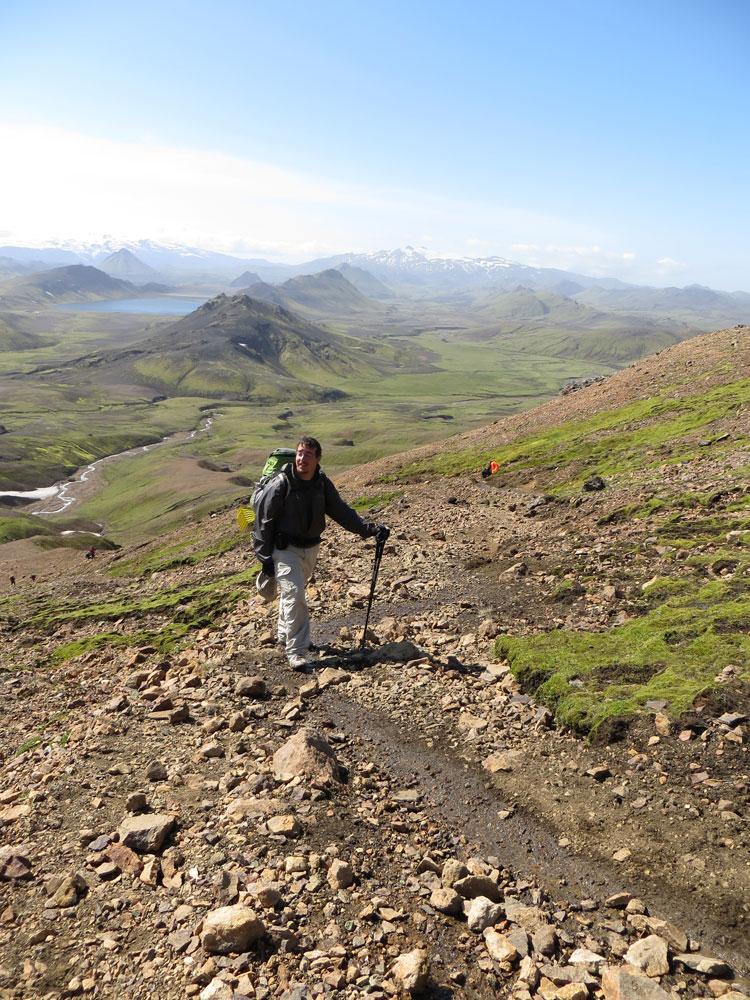 Le tour de l'Islande à pied
