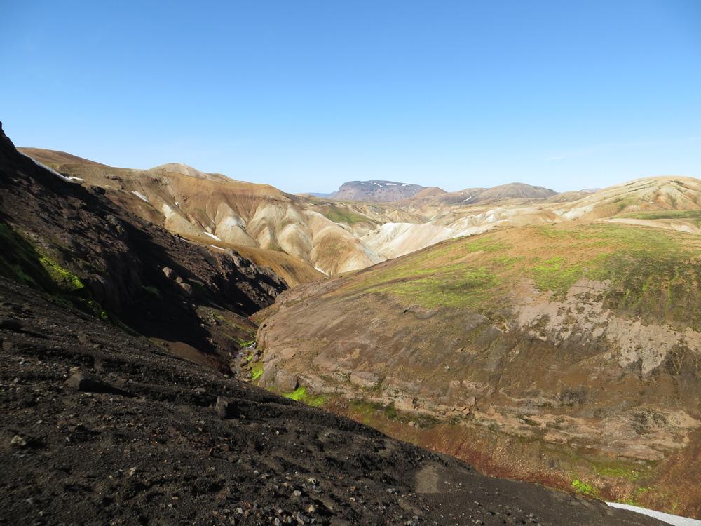 Paysages incroyables d'Islande