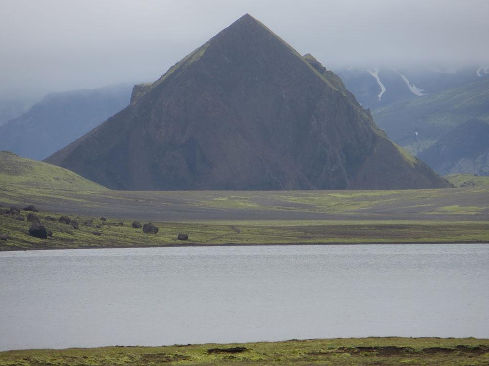 Pyramide en Islande