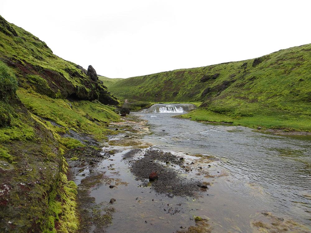 Traversée de rivière en Islande