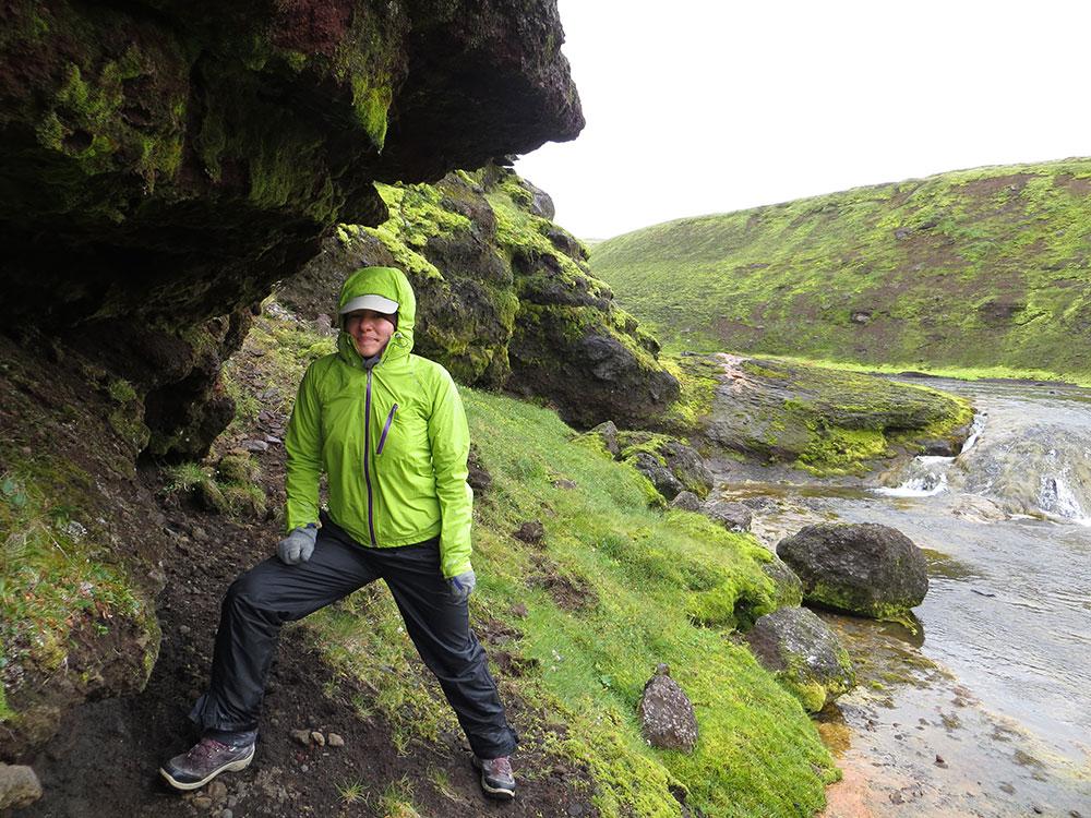 Voyageuse en Islande