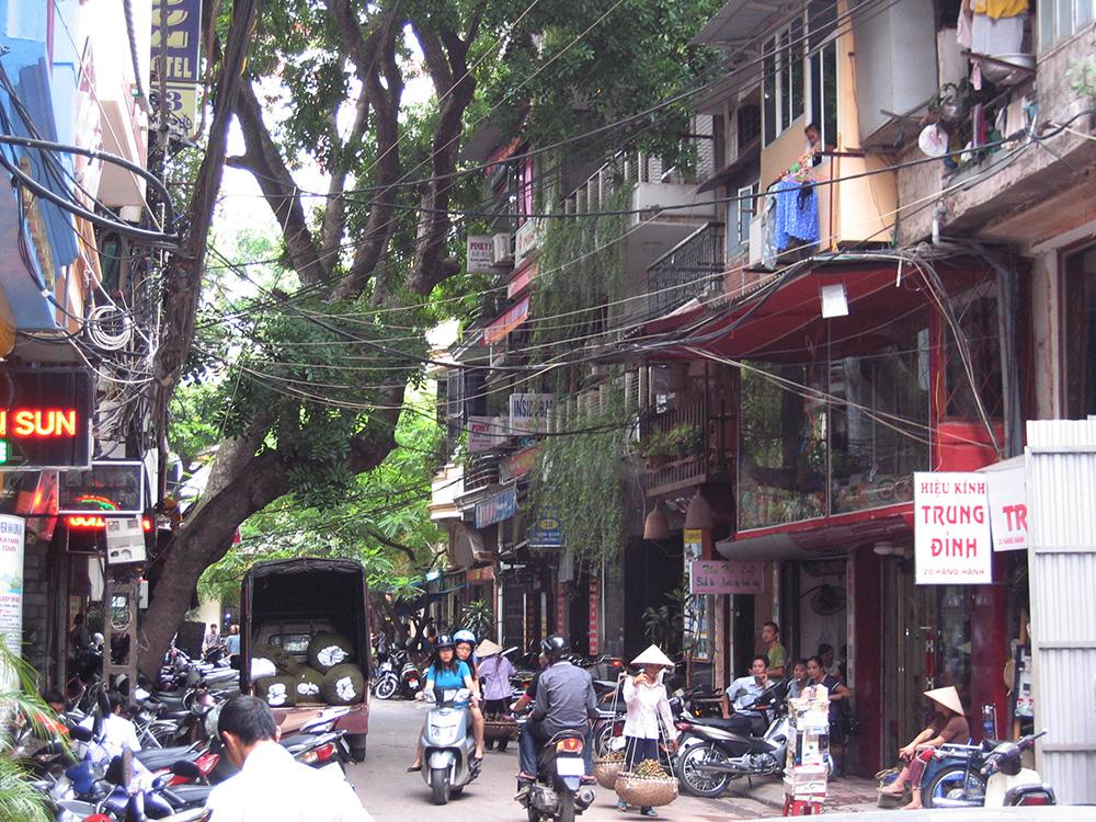 Rues d'Hanoi