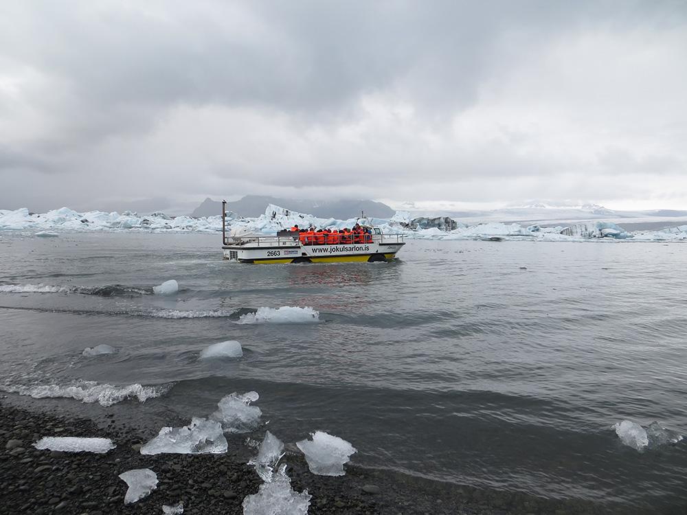 Excursion bateau Jökulsárlón