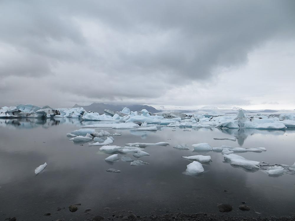 Icebergs en Islande à Jökulsárlón