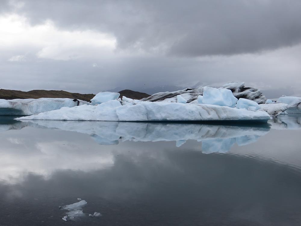Reflets iceberg