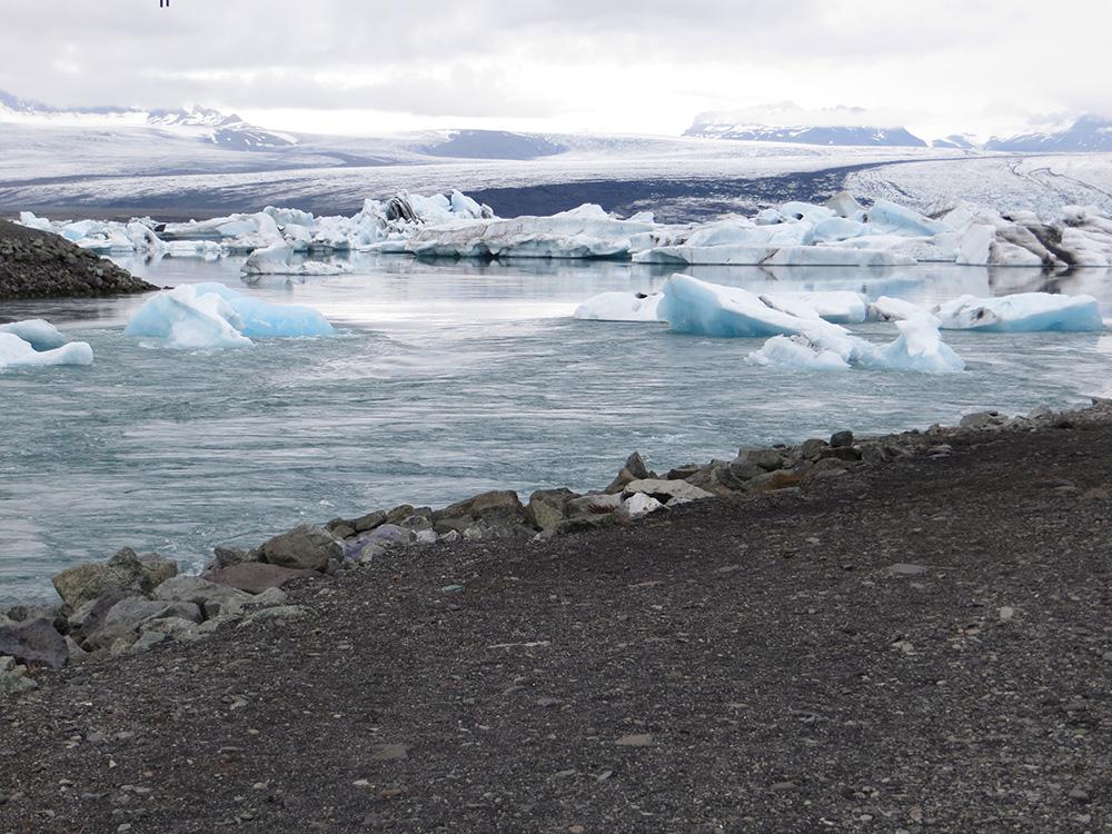 Rivière à icebergs