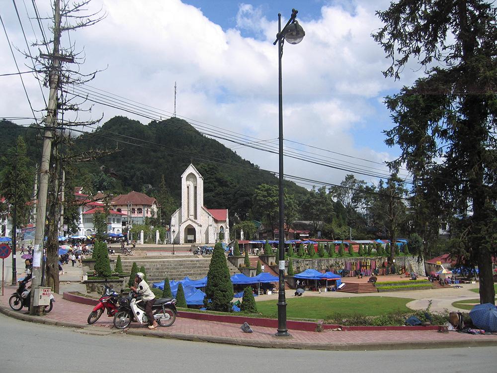 Ville moderne de Sapa