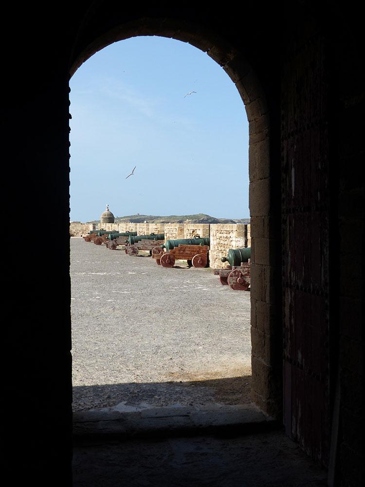 Chemin de ronde à Essaouira