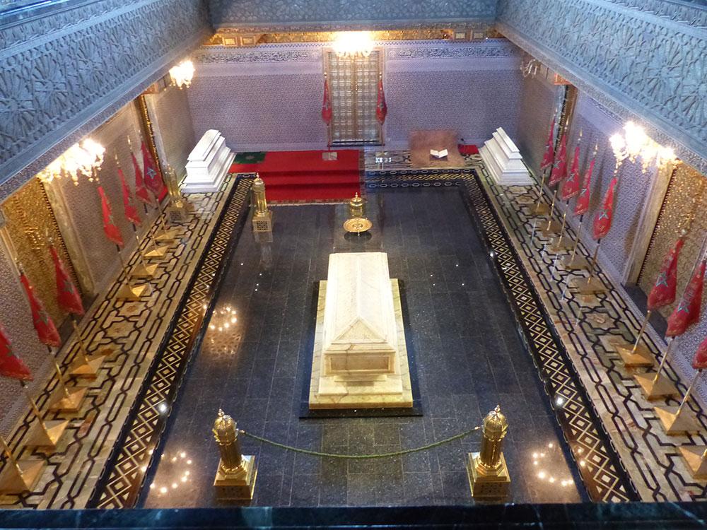 Mausolée du roi du Maroc