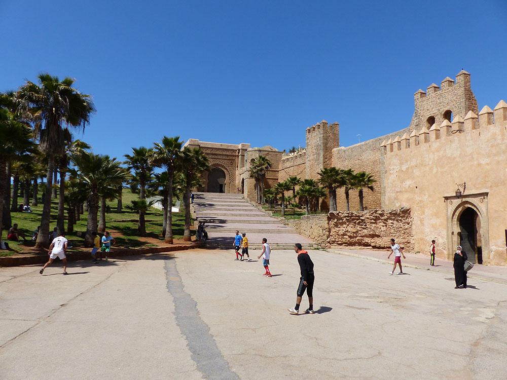 Murailles de Rabat