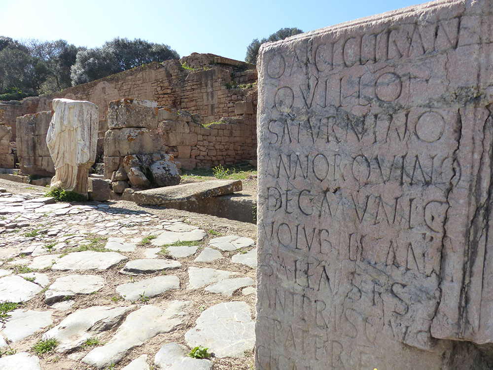 Ruines romaines au Maroc
