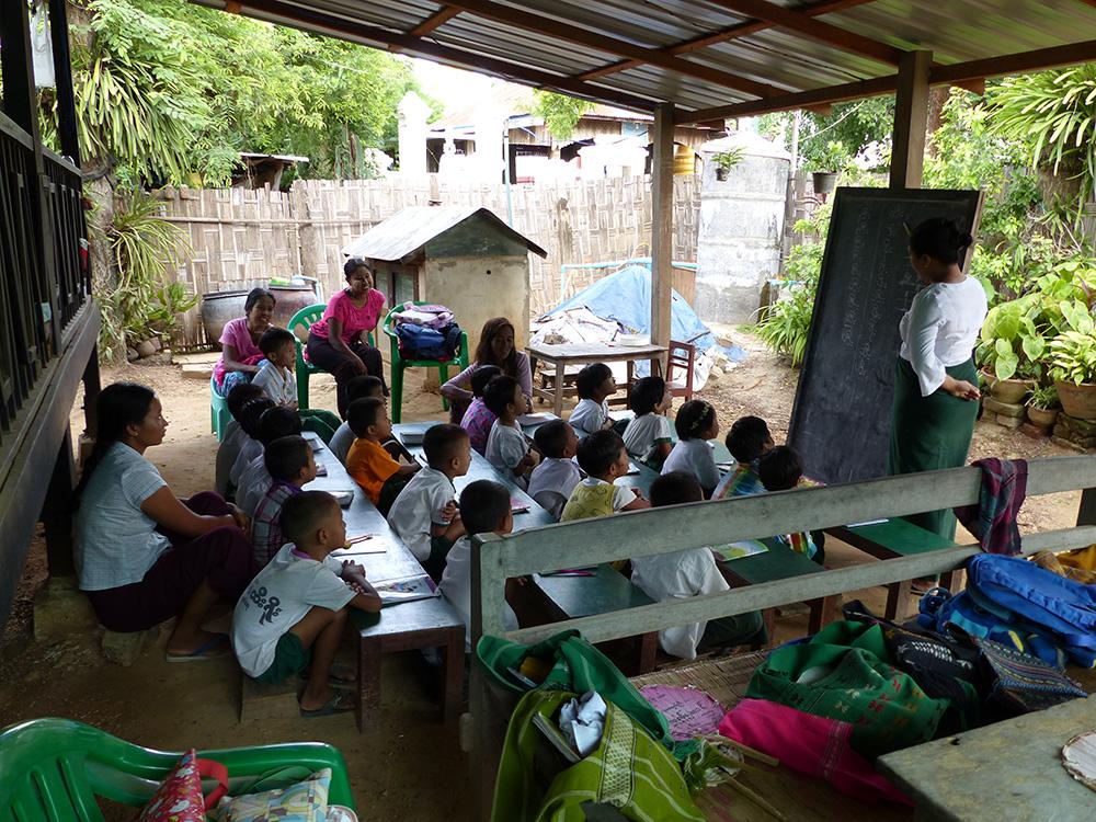 Ecole Birmanie