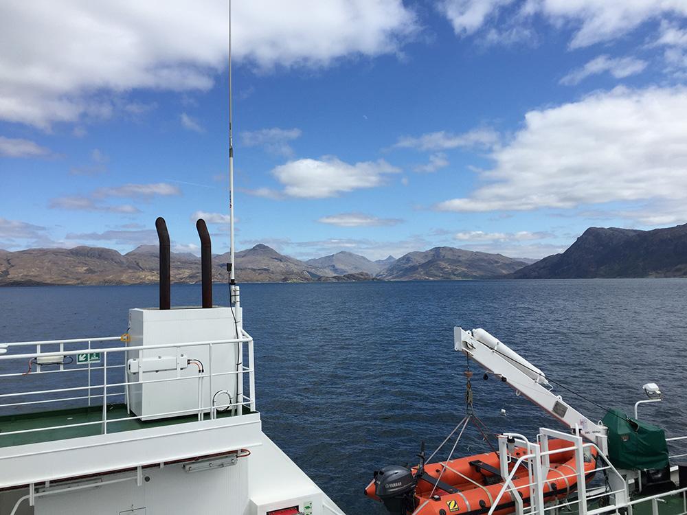Ferry vers Skye
