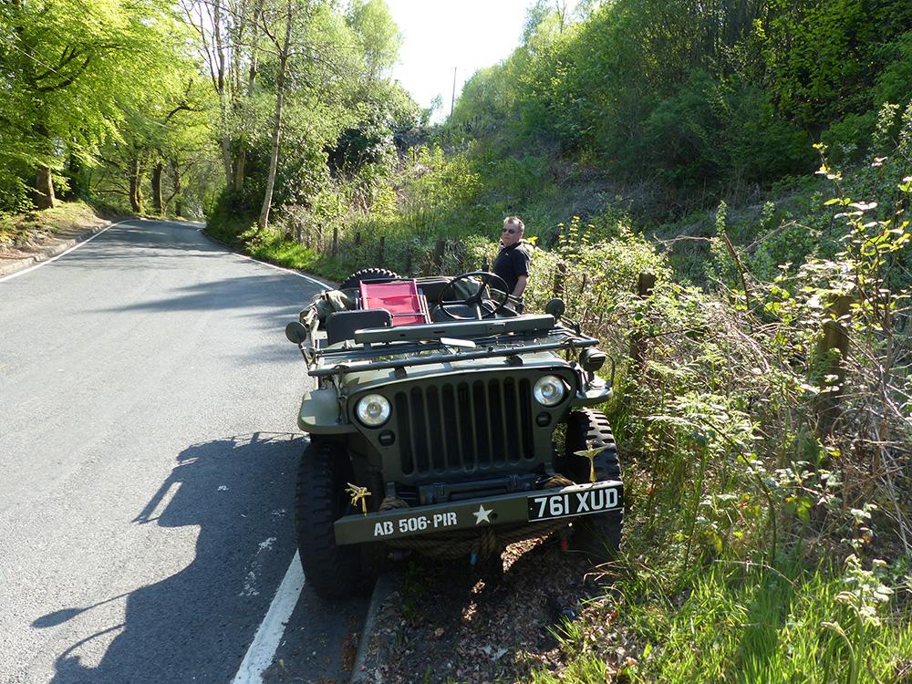 Jeep de l'armée française