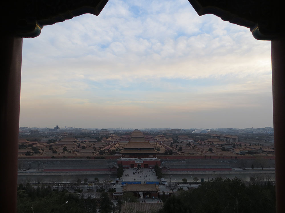 cité interdite colline du charbon forbidden city