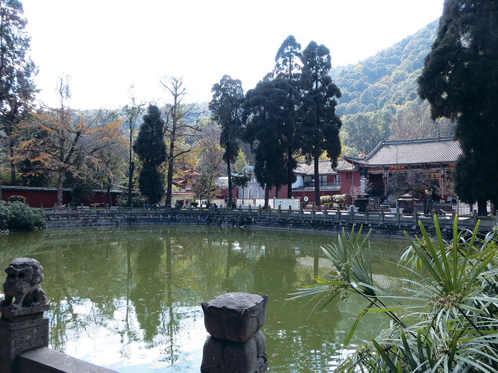 lac huating temple