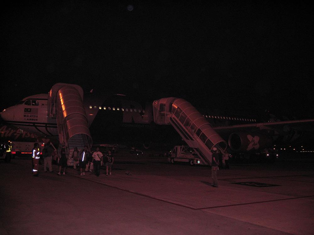 Avion à Kuala Lumpur