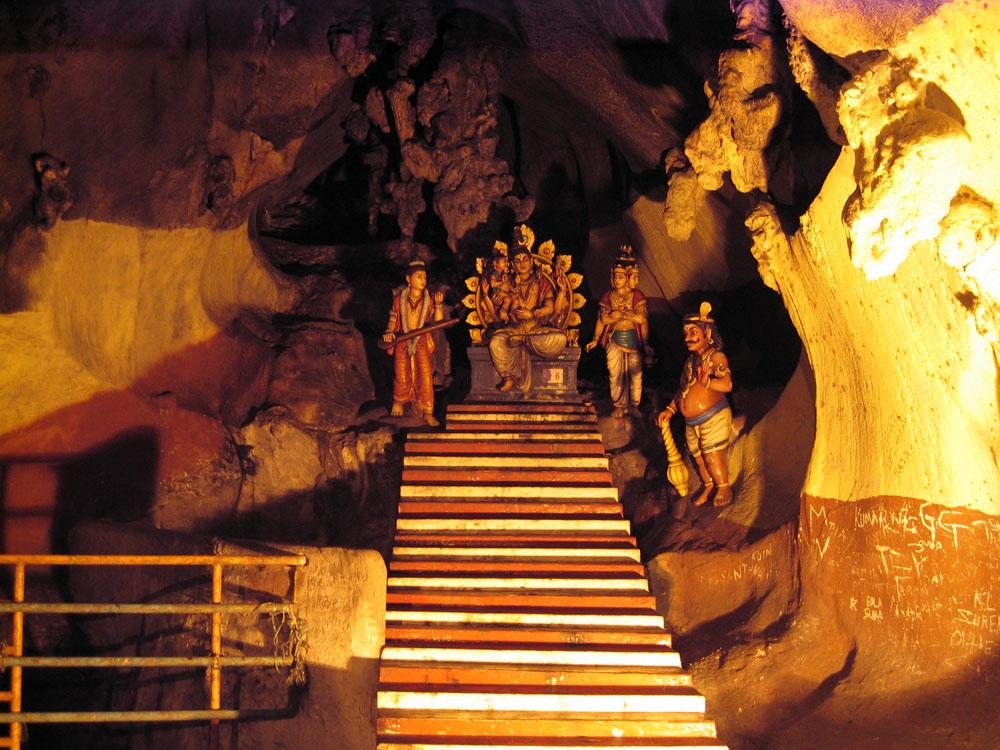 Statuettes dans les Batu Caves