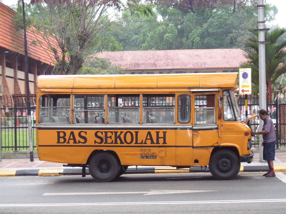 Bus en panne