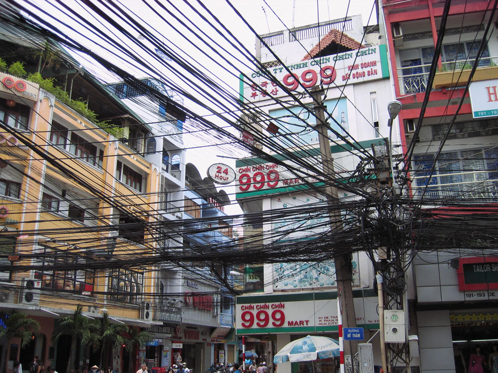 Câbles électriques à Hô-Chi-Minh-Ville
