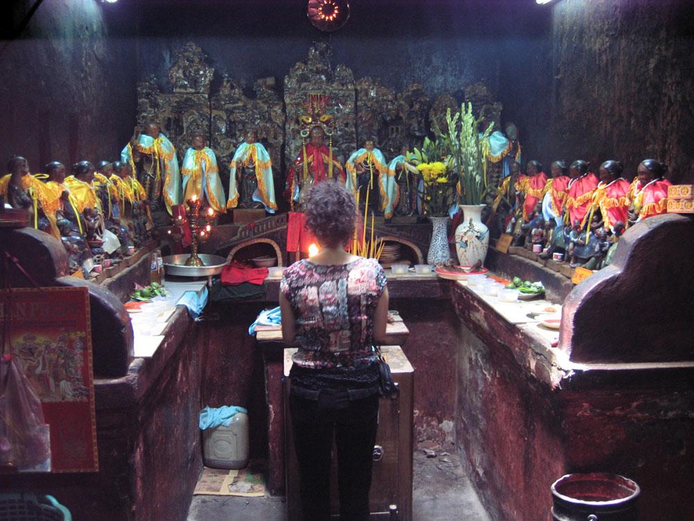 Culte des divinités