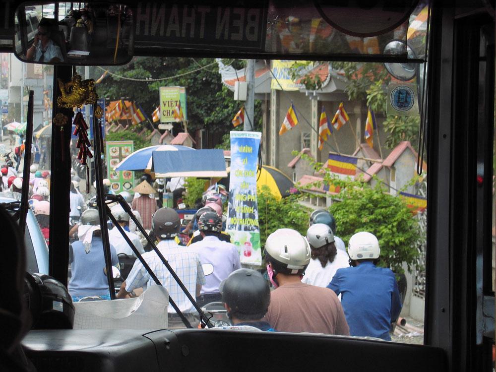Scooters au Vietnam