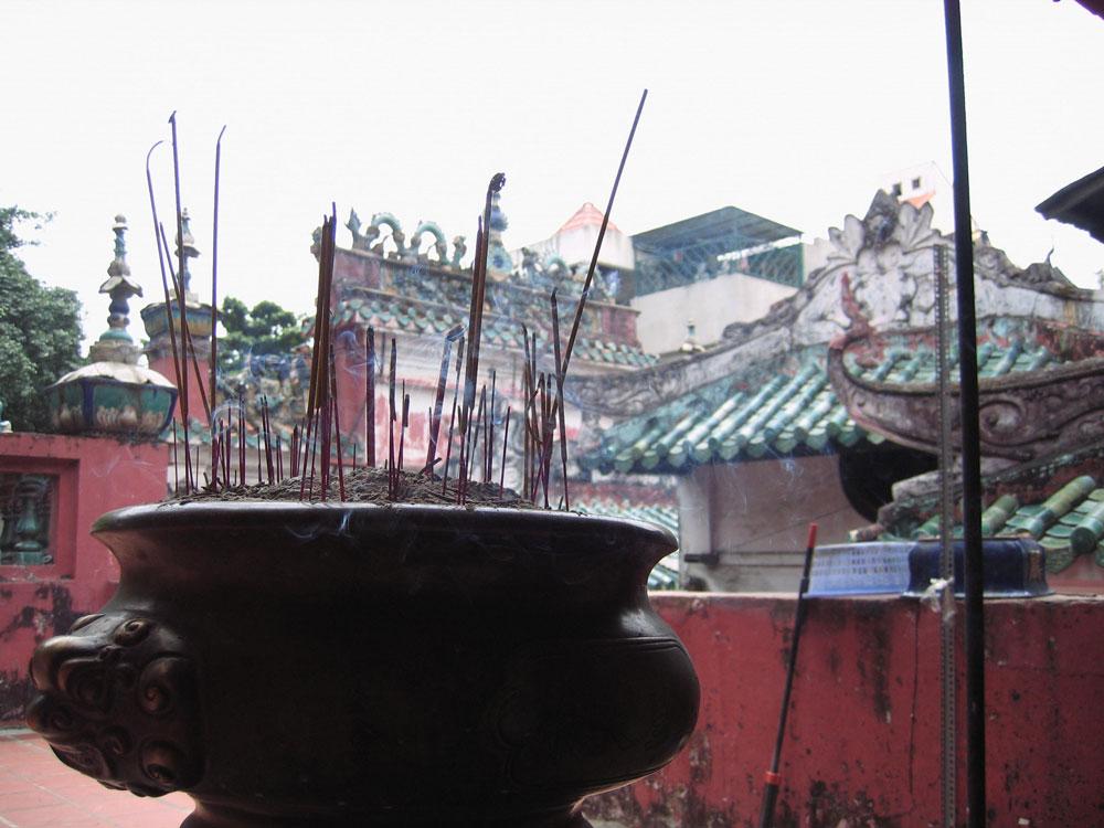 Encens temple