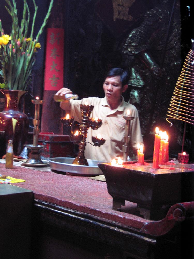 Moine au Vietnam