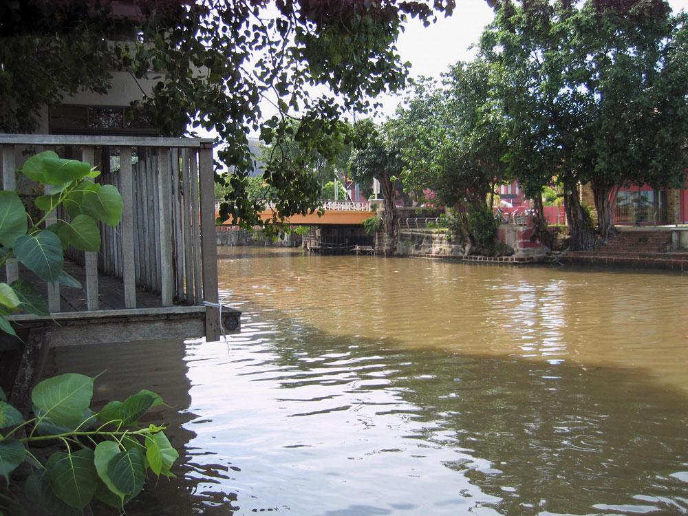 Rivière au cœur de Malacca