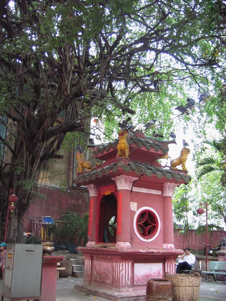 Cour du temple de Jade
