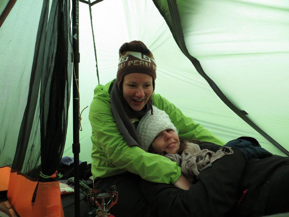 Camping bivouac Islande