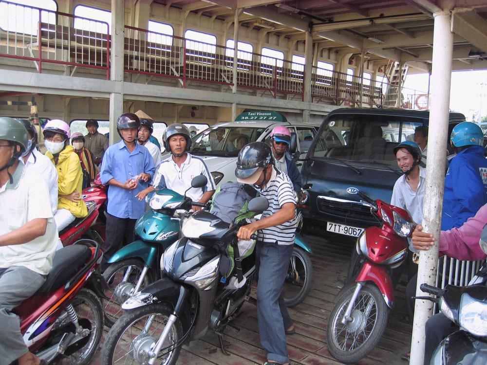 Ferry au Vietnam