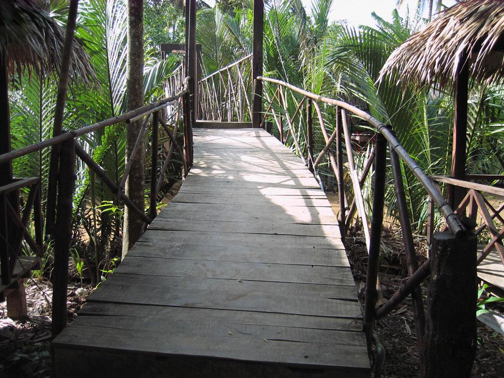 Hôtel près du Mékong