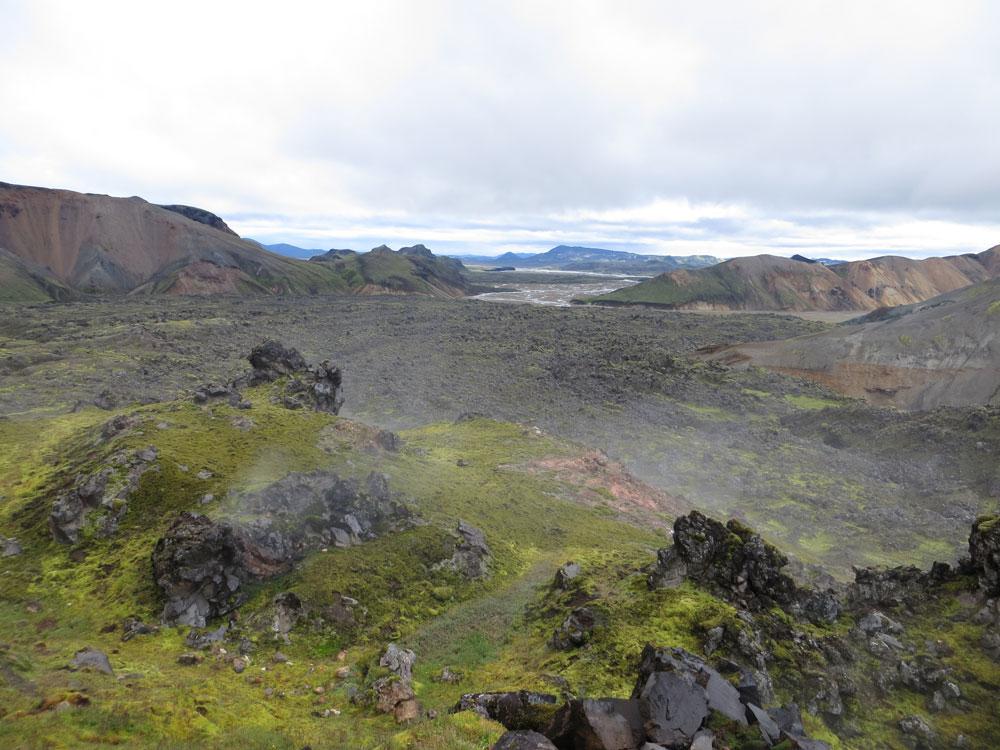 Laugavegur Islande