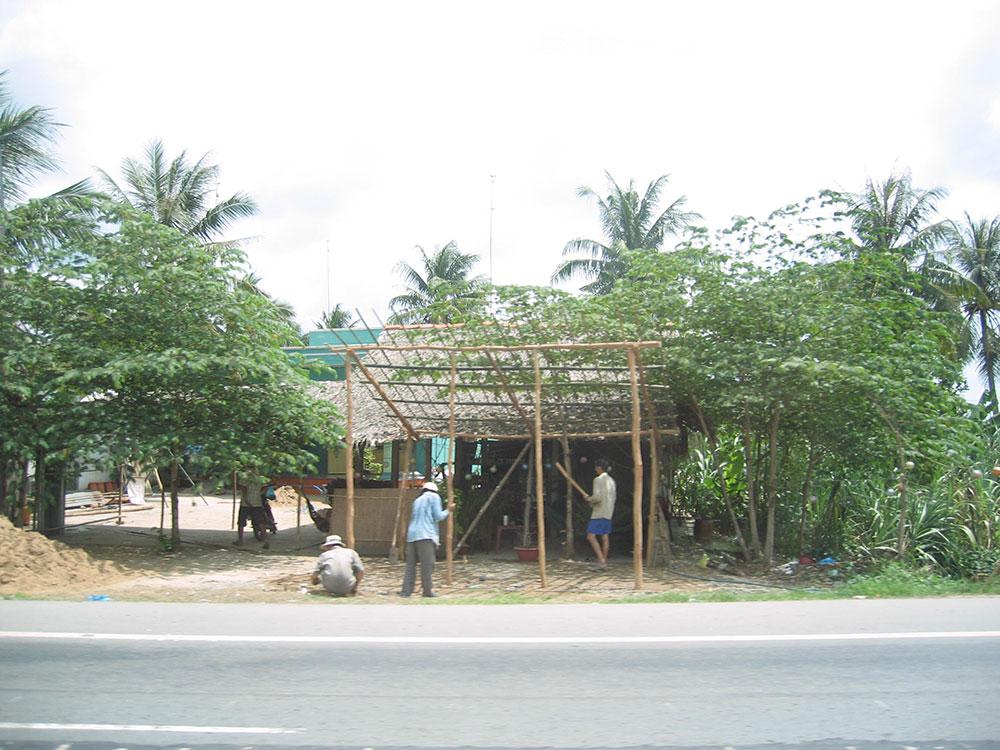 Ouvriers au Vietnam