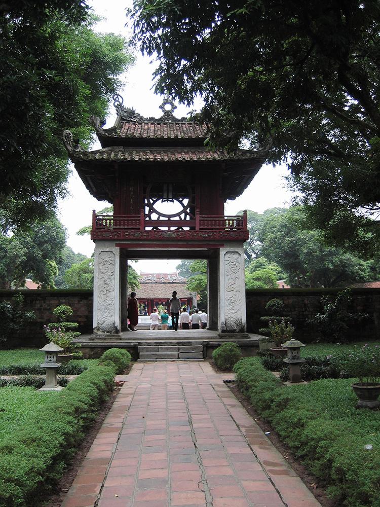 Temple de la littérature d'Hanoï