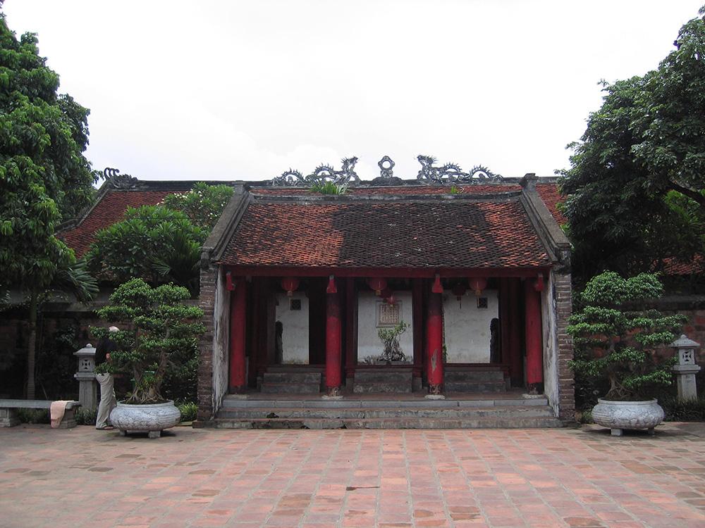 Vieux temple d'Asie