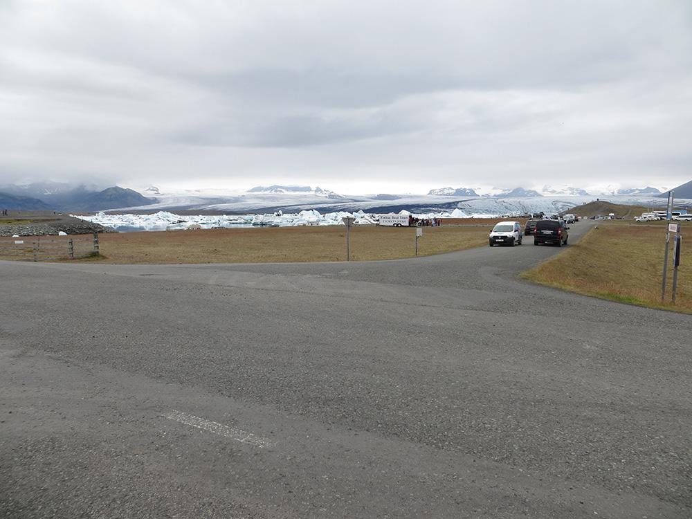 Entrée de Jökulsárlón en Islande