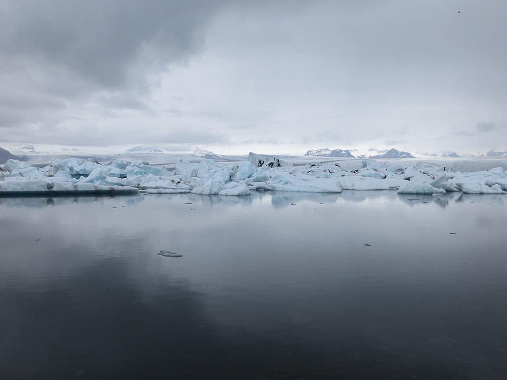 Lac Jökulsárlón en Islande