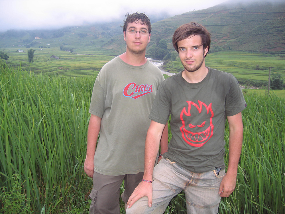 Antonin et Morgan, routards