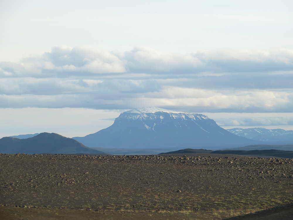 Montagne préférée des islandais