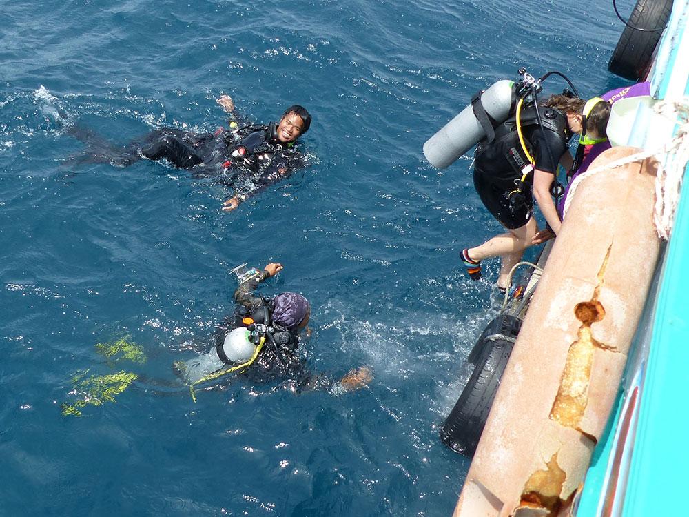 Plonger en Thaïlande