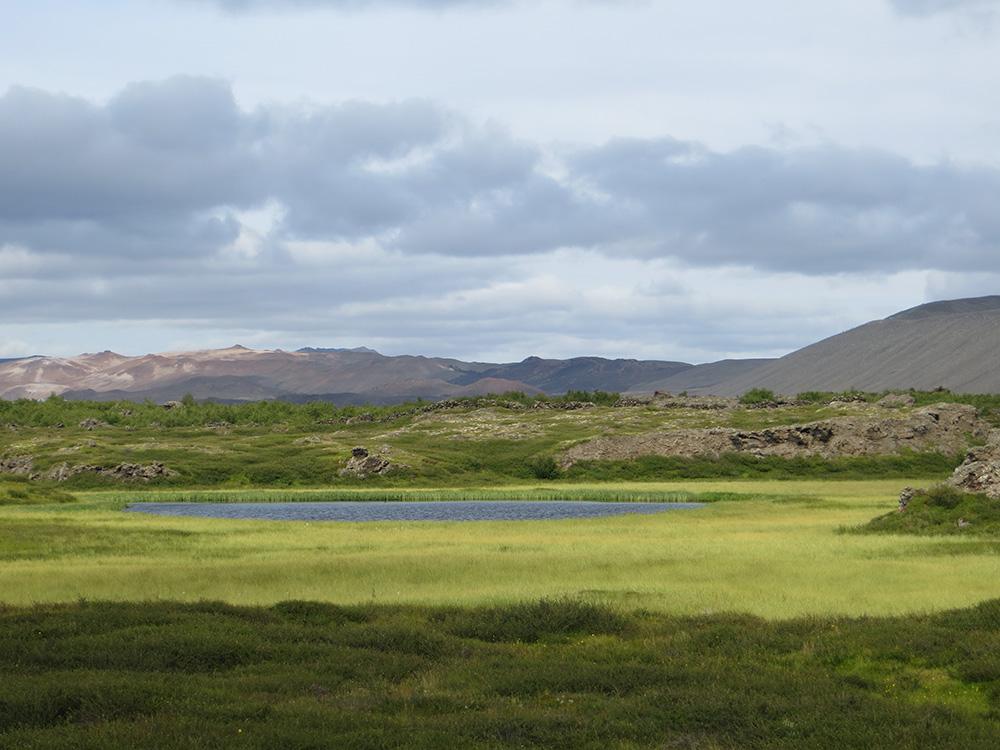 Couleurs étincelantes en Islande