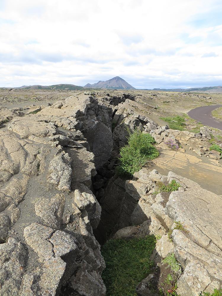 Faille sismique en Islande
