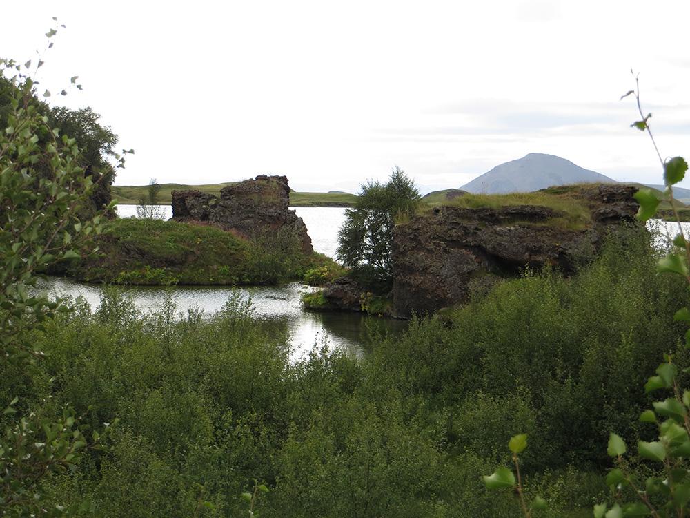 Lac Myvatn en Islande